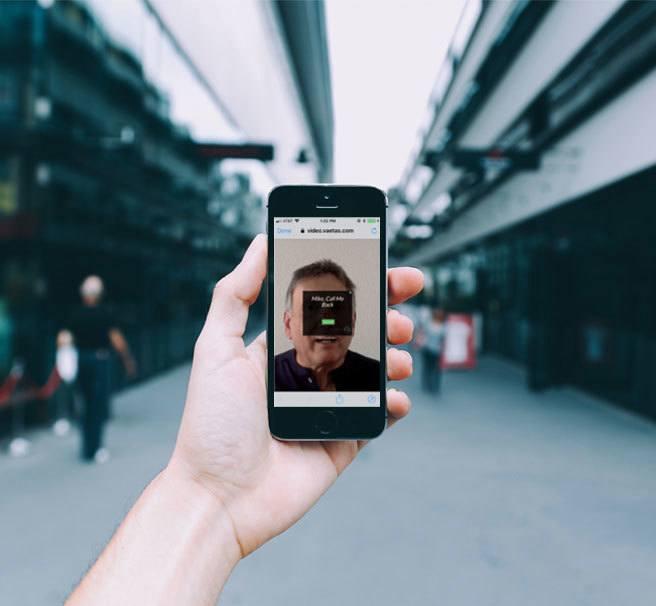 Vaetas Connect Video on Smartphone