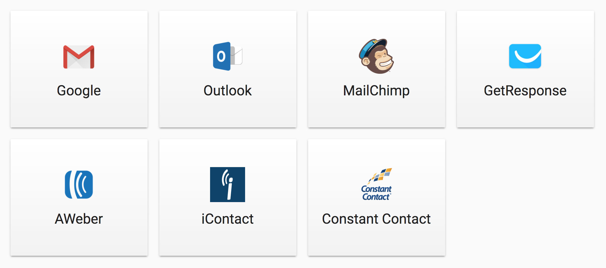 Vaetas Connect Email Integrations